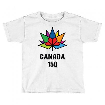 Canada 150th Anniversary Toddler T-shirt Designed By Tshiart