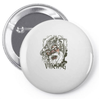 Viking Pin-back Button Designed By Estore