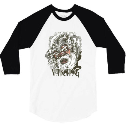 Viking 3/4 Sleeve Shirt Designed By Estore
