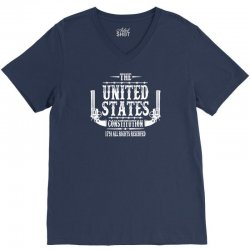 The United States Constitution V-Neck Tee   Artistshot