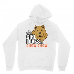 This Girl Loves Her Chow Chow Unisex Hoodie | Artistshot