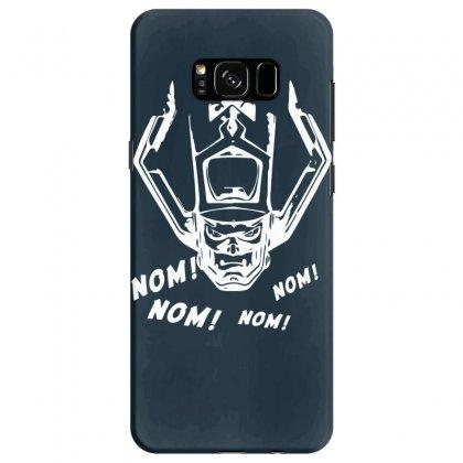 Nom Nom Nom White Samsung Galaxy S8 Case Designed By Specstore