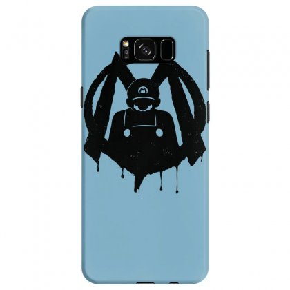 M For Mario Samsung Galaxy S8 Case Designed By Specstore