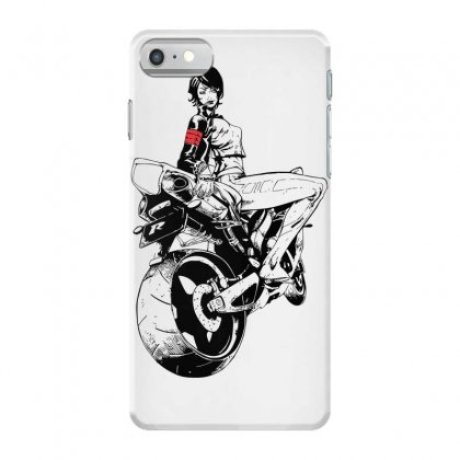 Biker Girl Iphone 7 Case Designed By Sbm052017