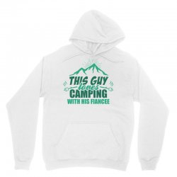 This Guy Loves Camping With His Fiancee Unisex Hoodie | Artistshot