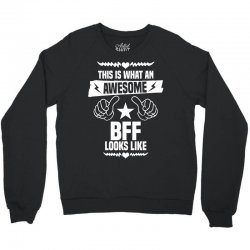 Awesome Bff Looks Like Crewneck Sweatshirt | Artistshot