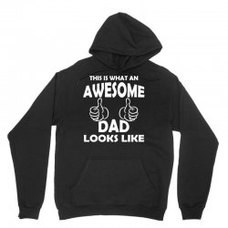Awesome Dad Looks Like Unisex Hoodie | Artistshot