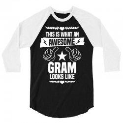 Awesome Gram Looks Like 3/4 Sleeve Shirt | Artistshot
