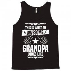 Awesome Grandpa Looks Like Tank Top | Artistshot