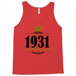 vintage 1931 and still looking good Tank Top | Artistshot