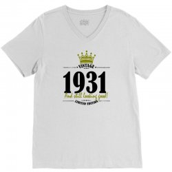 vintage 1931 and still looking good V-Neck Tee | Artistshot