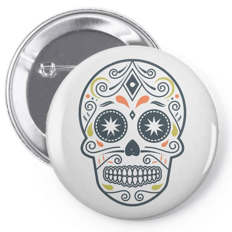 Skull Pin-back Button | Artistshot