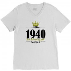 vintage 1940 and still looking good V-Neck Tee | Artistshot