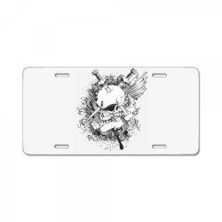 Skull License Plate | Artistshot