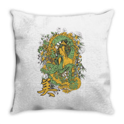 Girl Throw Pillow | Artistshot