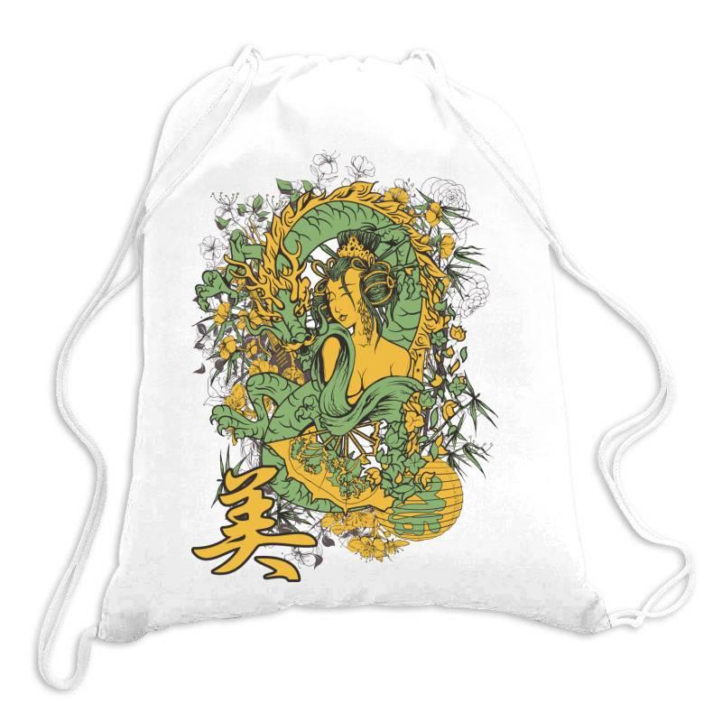 Girl Drawstring Bags | Artistshot