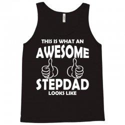 Awesome Stepdad Looks Like Tank Top | Artistshot