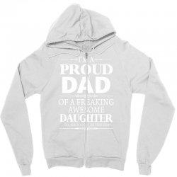 proud dad Zipper Hoodie | Artistshot
