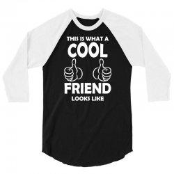 Awesome Friend Looks Like 3/4 Sleeve Shirt | Artistshot