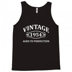 Vintage 1954 Aged to Perfection Tank Top   Artistshot