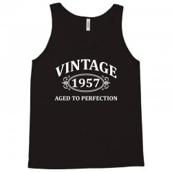 Vintage 1957 Aged to Perfection Tank Top | Artistshot