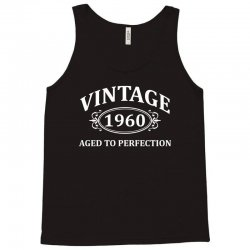 Vintage 1960 Aged to Perfection Tank Top | Artistshot