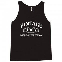 Vintage 1963 Aged to Perfection Tank Top   Artistshot
