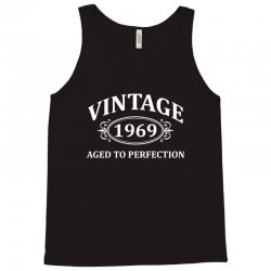 Vintage 1969 Aged to Perfection Tank Top   Artistshot