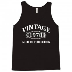 Vintage 1978 Aged to Perfection Tank Top | Artistshot