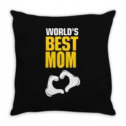 Worlds Best Mom Throw Pillow   Artistshot