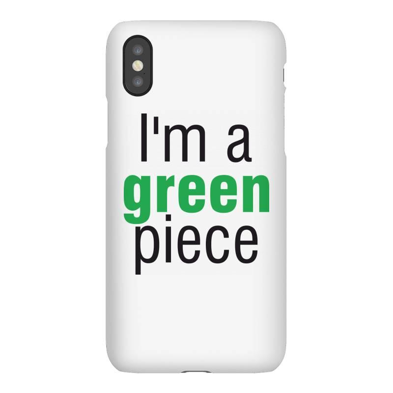 I'm A Green Piece Iphonex Case | Artistshot