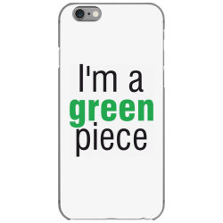 I'm a green piece iPhone 6/6s Case | Artistshot