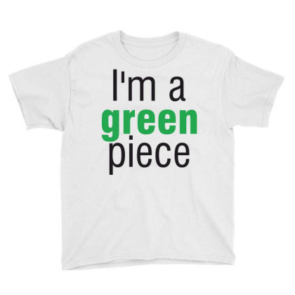 I'm A Green Piece Youth Tee Designed By Estore