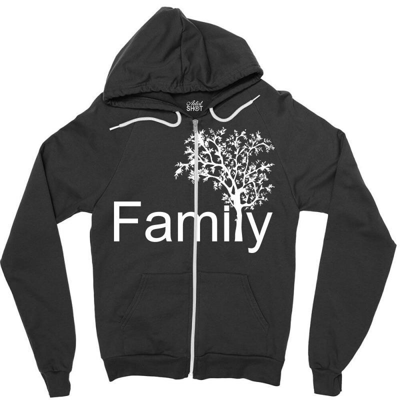 Family Tree Zipper Hoodie   Artistshot