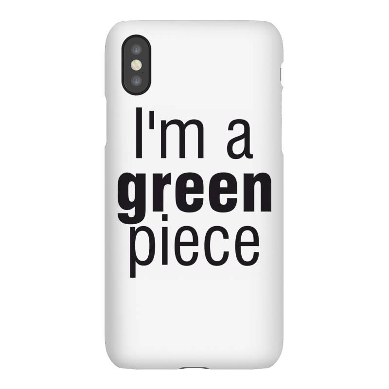 I'm A Green Piece Iphonex Case   Artistshot