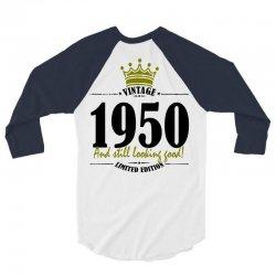 vintage 1950 and still looking good 3/4 Sleeve Shirt | Artistshot