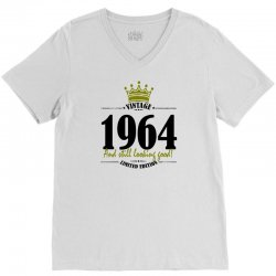 vintage 1964 and still looking good V-Neck Tee | Artistshot