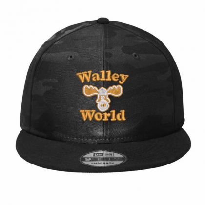 Walley  World Embroidered Camo Snapback Designed By Madhatter