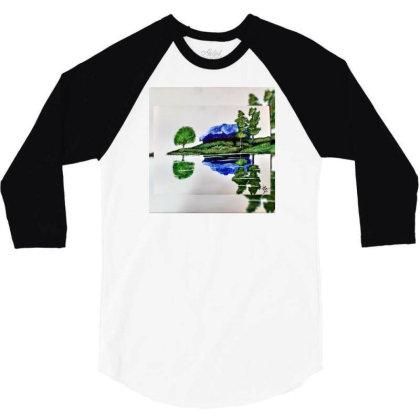 Nature Is Home 3/4 Sleeve Shirt Designed By Yagyadimri