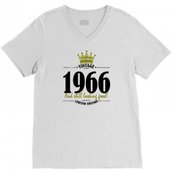 vintage 1966 and still looking good V-Neck Tee | Artistshot