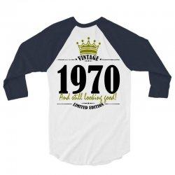 vintage 1970 and still looking good 3/4 Sleeve Shirt   Artistshot