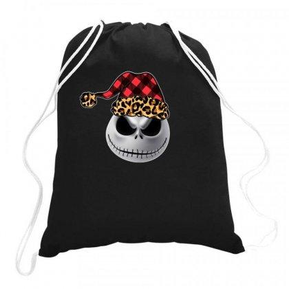Jack Skellington Christmas For Dark Drawstring Bags Designed By Neset