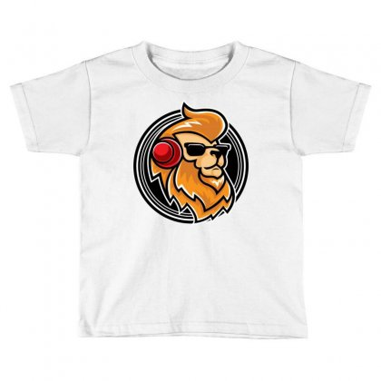 Lion Music Toddler T-shirt Designed By Daudart