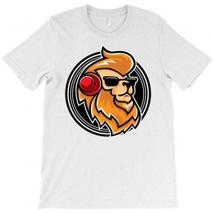 Lion Music T-shirt Designed By Daudart