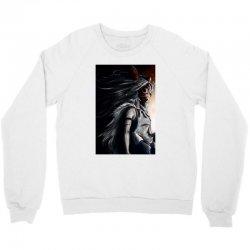 wolf anime Crewneck Sweatshirt   Artistshot