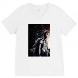 wolf anime V-Neck Tee   Artistshot