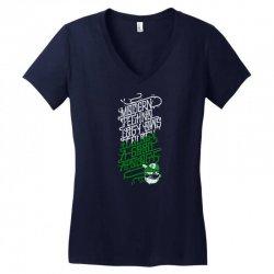 modern techno Women's V-Neck T-Shirt | Artistshot