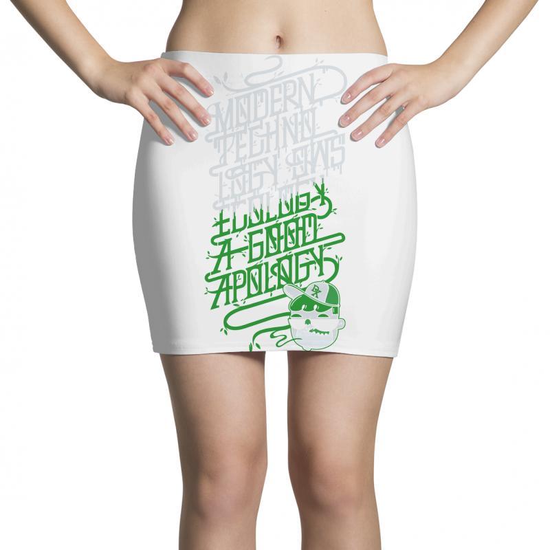 Modern Techno Mini Skirts | Artistshot
