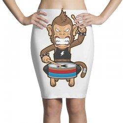 monkey metal crash drummer Pencil Skirts | Artistshot