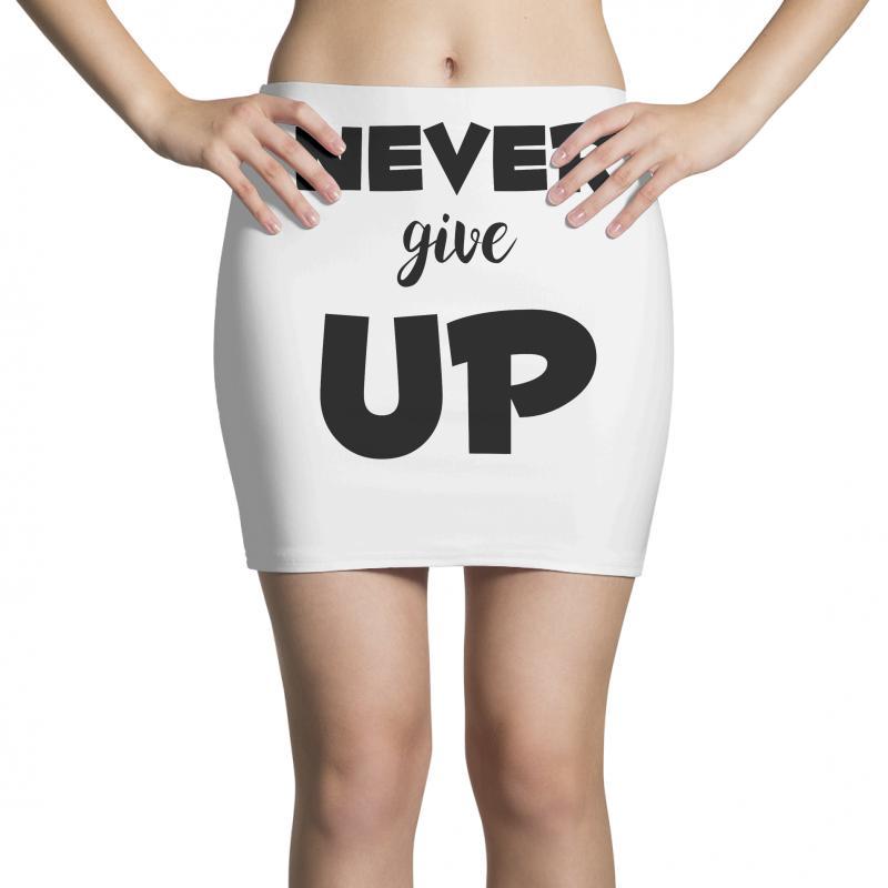 Never Give Up Mini Skirts | Artistshot
